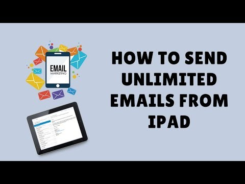 how to send unlimited emails from ipad