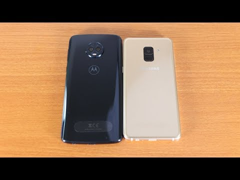 Galaxy A8 2018 Vs Moto G6 Plus Speed Test
