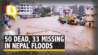 50 Reported Dead in Nepal Floods, 33 People Still Missing   The Quint