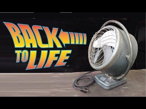 Vintage Fan Restored back to life