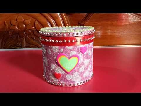 Jewellery box diy || cardboard box || How to make cardboard jewellery box || LifeStyle Designs
