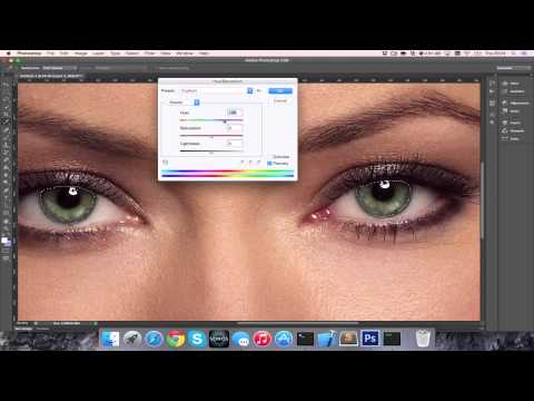 How to Change Eye Colour on Photoshop CC/CS6 [HD][4K][Tutorial][Guide] 2017
