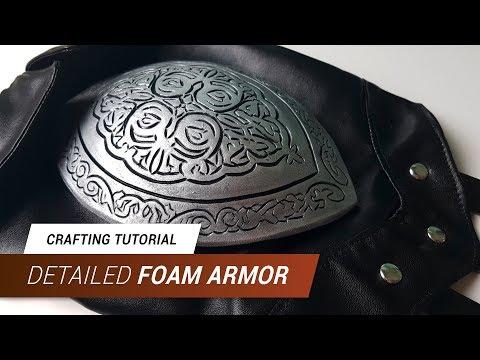 CraftingTutorial - Detailed Foam Armor | JakCosplay
