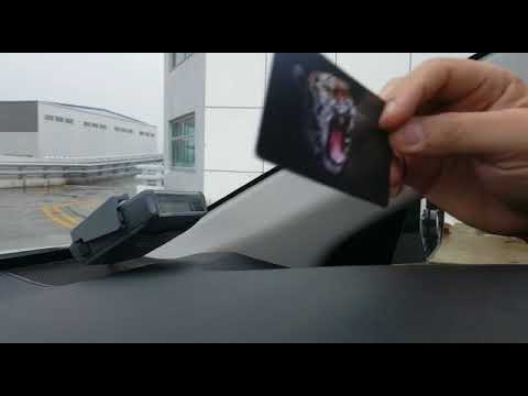 Personalised EZ-link card can be used in new car IU (Printed in Singapore)