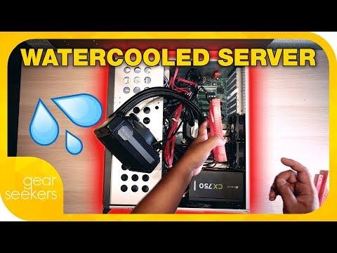 Water Cooling A Server - Server Build Part 2