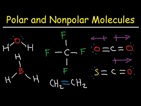 Polar and NonPolar Molecules: How To Tell If a Molecule is Polar or Nonpolar