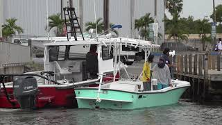 Docking at its Finest ! Chit Show Miami, Florida ! (BlackPoint Marina )