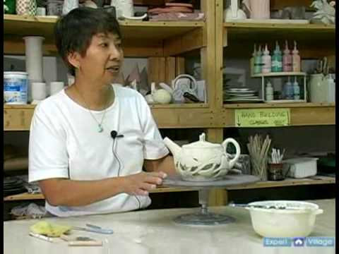 Ceramics: How to Make Double-Walled Pottery Vessels : How to Fire & Dry Carved Pottery
