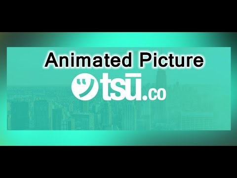 How To Share Animated / Gif Picture On tsu