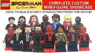 Download LEGO SPIDER-MAN: FAR FROM HOME Custom Minifigure Showcase Video
