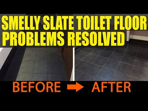 Smelly Slate Toilet Floor Problems Resolved At Slough Bowling Complex