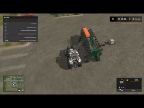 Farming Simulator 17- How to full up your sowing machine