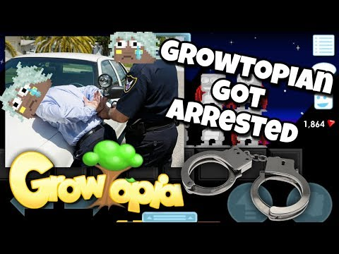A Growtopian got ARRESTED !!!! | Growtopia
