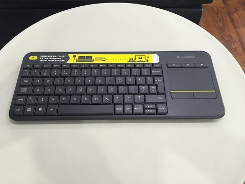 THE BEST PORTABLE KEYBOARD FOR ANDROID TV BOX (LOGITECH K400 PLUS)