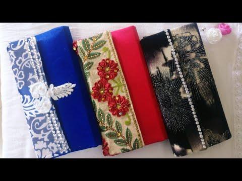 How to make clutch | No Sew | DIY Clutch