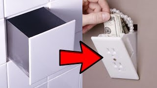 14 HIDING HACKS That Will Fool Even The Smartest Thief!