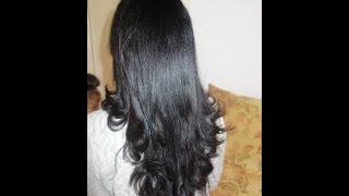 Corte de cabello en v sola