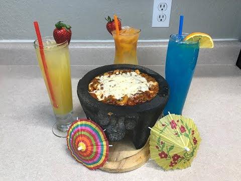 Es Viernes y El Cuerpo los Sabe! Chorizo Fundido Dip 🔴y Bebidas Tropicales