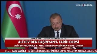 İlham Aliyev Ermenistan Başbakanı'nı İşte Böyle Susturdu! Tarihi Ders!