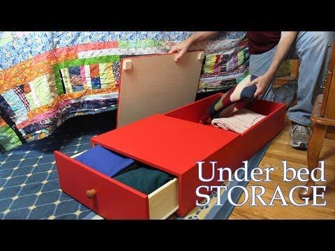 Under bed storage solution