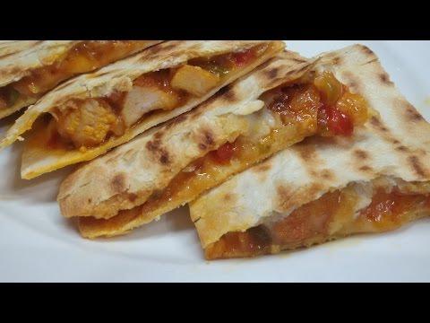 Mexican Chicken Quesadillas Recipe - Make It Easy Recipes