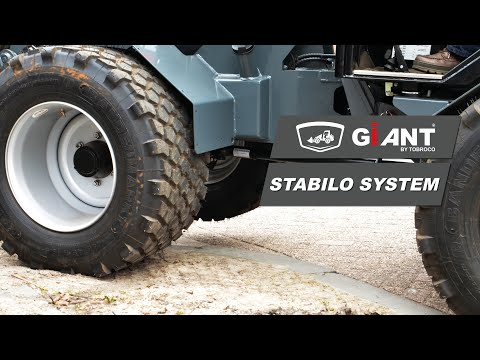 Stabilo system for smooth operation of GIANT Machinery