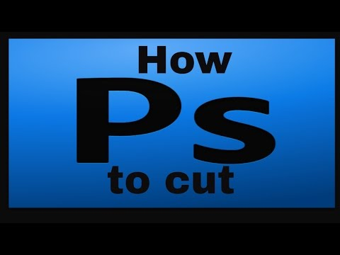 How to cut an image in Photoshop CS4
