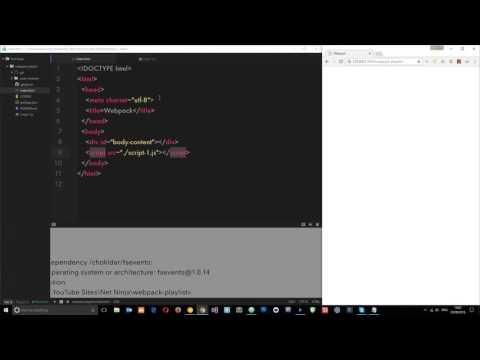 Webpack Tutorial for Beginners #2 - Installing Webpack & Bundling JS Files
