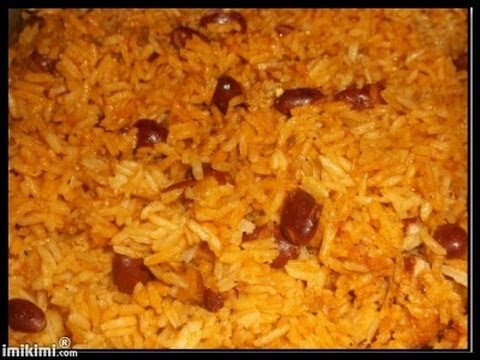 Yellow Rice with Red Kidney Beans