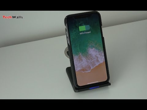 MeGa Fast Wireless Charging Stand with Cooling Fan