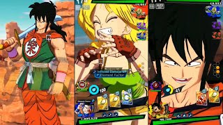 EARLY GAMEPLAY! SP YAMCHA \u0026 LAUNCH ALL ATTACKS! + SPECIAL MOVES + GREEN CARD | Dragon Ball Legends