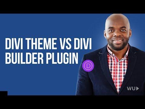 Divi theme tutorial: Divi builder vs Divi theme