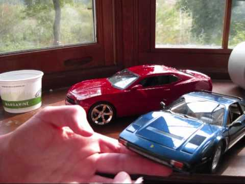 How to clean diecast model cars