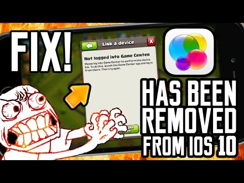 GAME CENTER REMOVED iOS10 | Cannot Transfer Account (Clash of Clans/Royale)