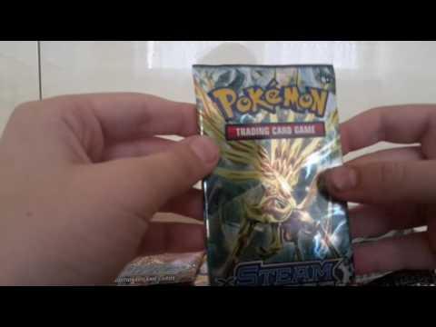 A BISHARP!!!! Pokemon steam siege card opening