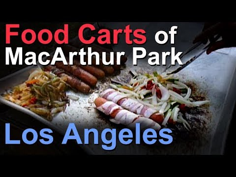 Food Carts of MacArthur Park in Los Angeles