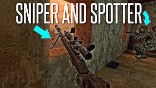 VIRTUAL REALITY SNIPER \u0026 SPOTTER! - Onward Gameplay feat. HouseGamers
