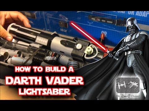 Star Wars   Build your own Darth Vader Lightsaber toy at Disneyland