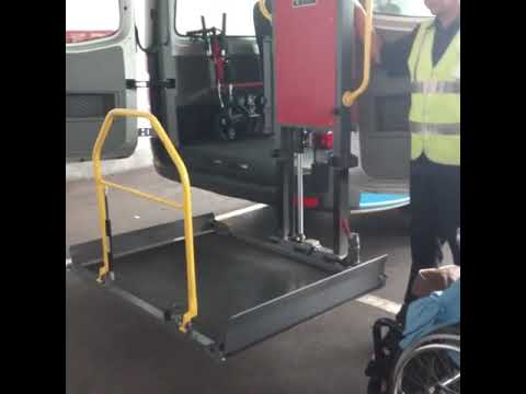 Airport service for wheelchair user