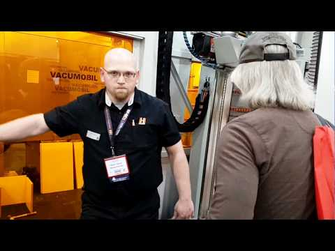 Holzher Evolution 7405 vertical CNC router machine