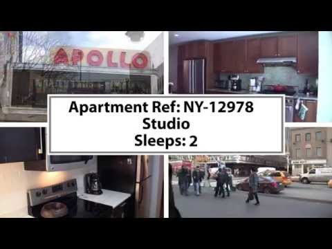 Video Tour of a Furnished Studio Apartment in Morningside Heights, Manhattan, New York