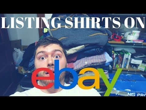 My Full Process of Inspecting, Listing and Packaging Shirts for Ebay