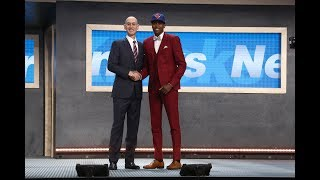 Frank Ntilikina Drafted 8th Overall by New York Knicks in 2017 NBA Draft