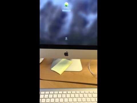 iMac wireless keyboard problem