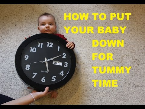 How to Put Your Baby Down for Tummy Time