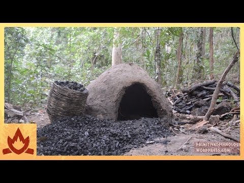 Primitive Technology: Reusable charcoal mound
