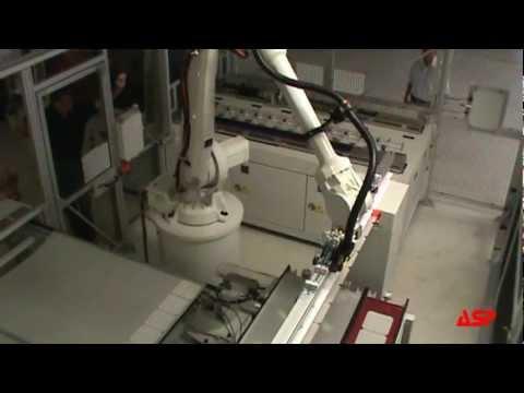 ASP Solar Panel Manufacturing - Tabber-Stringer