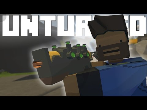 AWESOME FALLOUT WEAPONS?!! - Unturned Mod Showcase