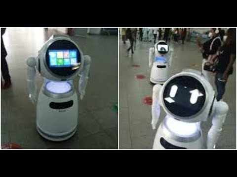 Nigeria!!!Abuja Airport Reopens With Robots Guidelines After Three Month Lockdown