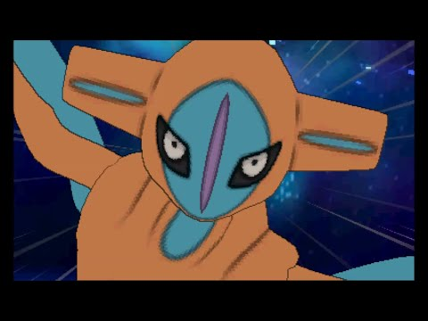 Pokemon Omega Ruby/Alpha Sapphire - Catching Deoxys (battle and cutscene)